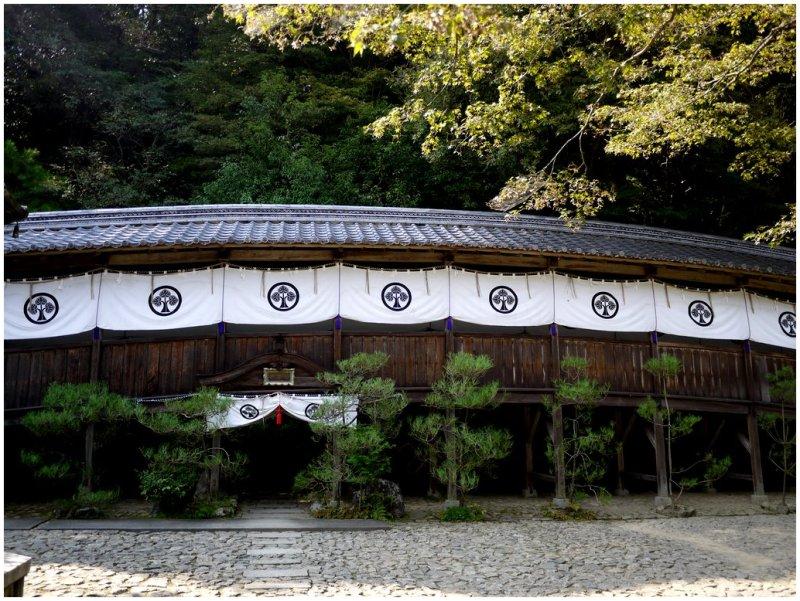 Tachiki-Kannon Temple in Japan