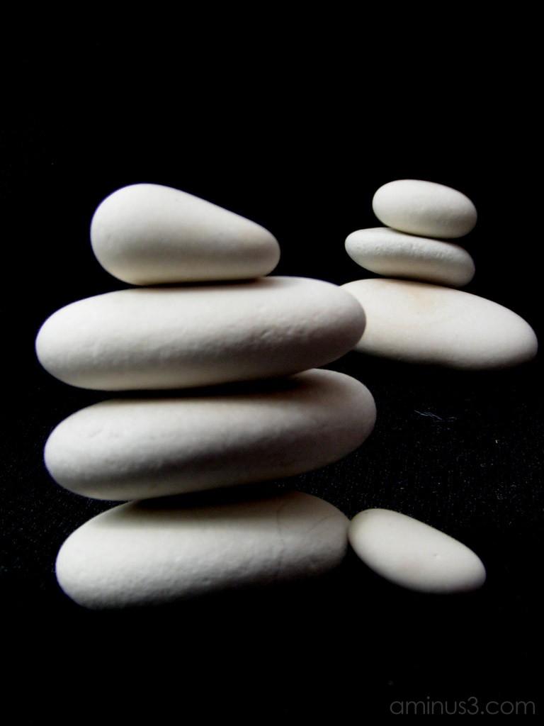 Stone Man Stones Macro photography