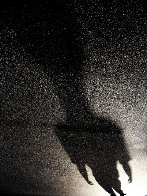 a shadow
