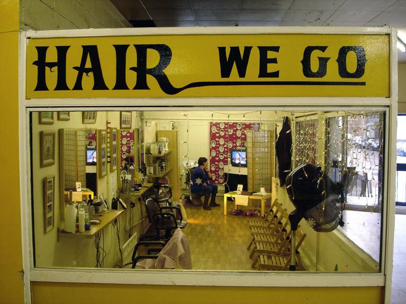 the truman show hair to go