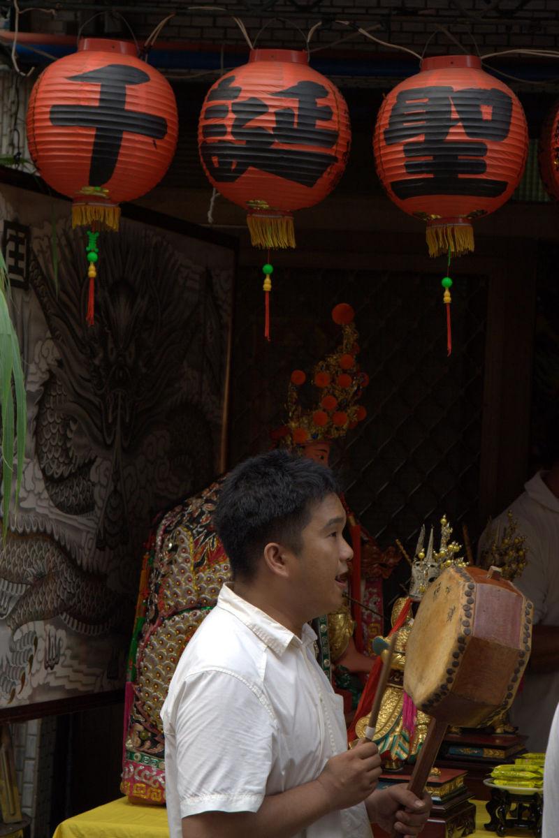temple worshipper
