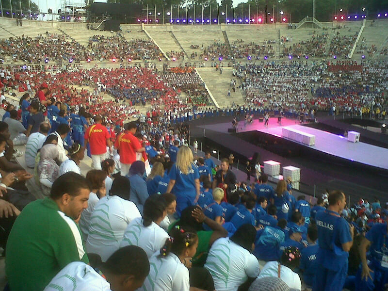 Closing Ceremony Special Olympics 2011.7