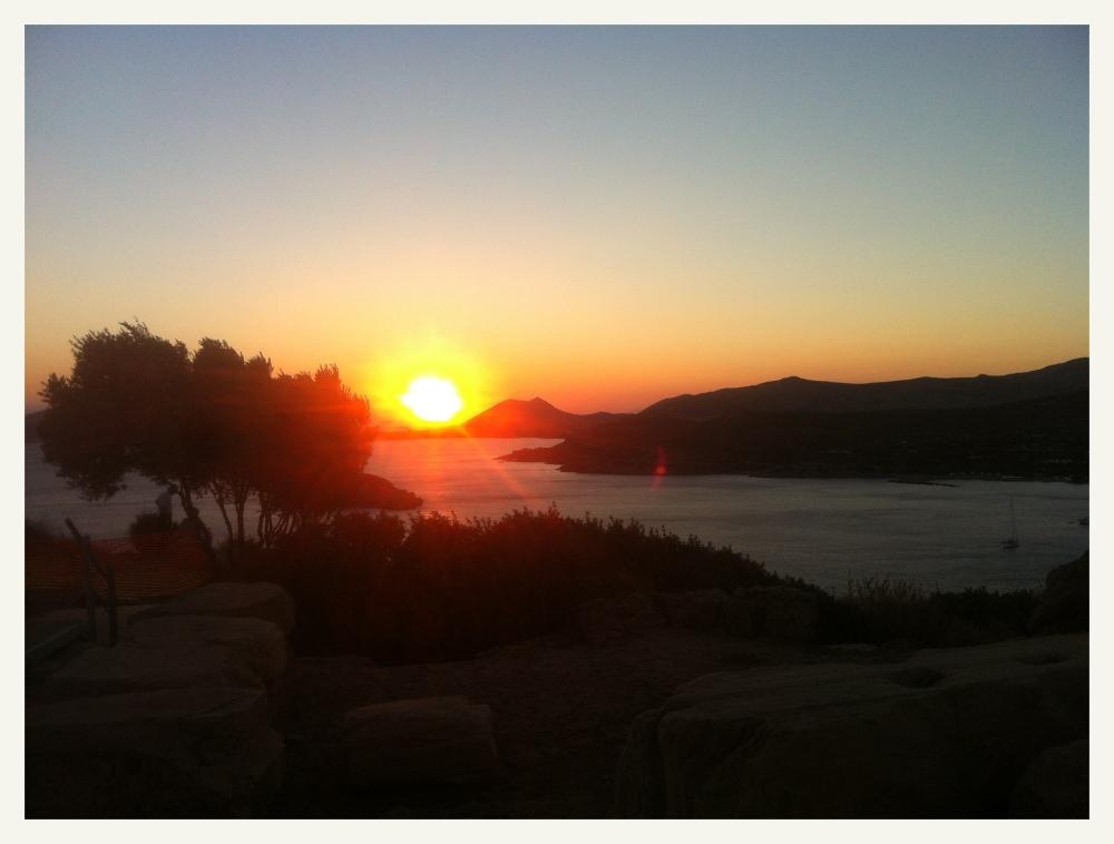 Sounion sunset 2