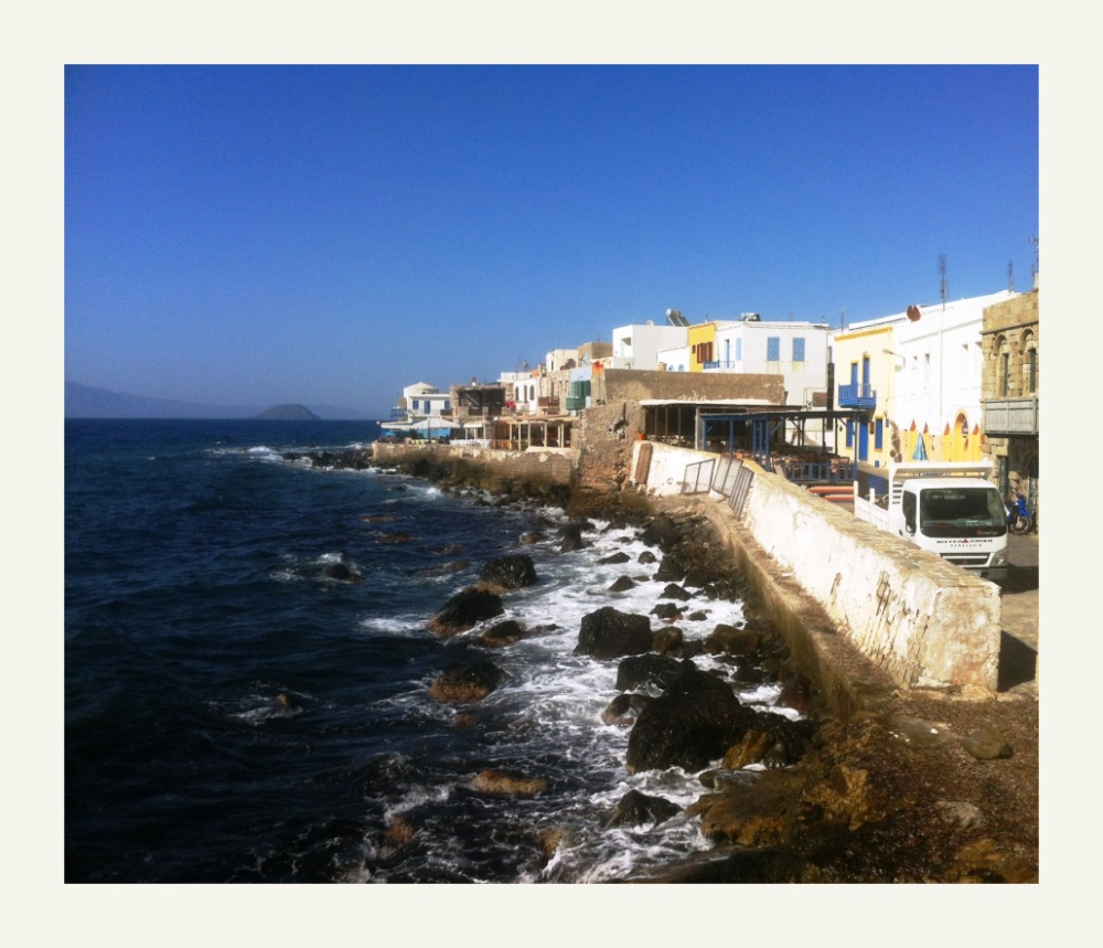old town in Nissyros Greece