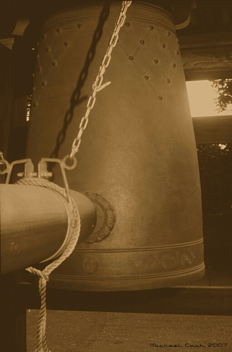 Temple bell at Japanese Buddhist Temple