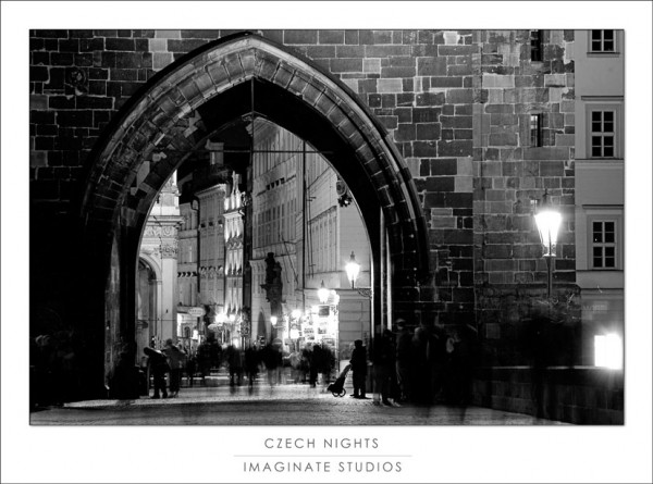 Charles Bridge at midnight...