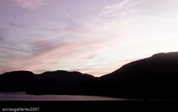 Sunset Over Hull Sound