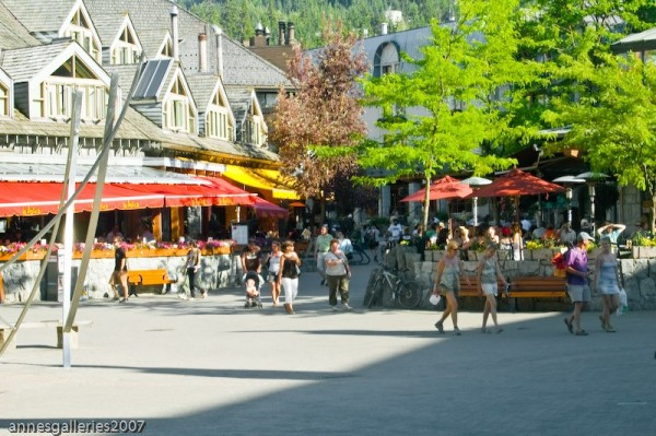 Walk Through Whistler Village 1