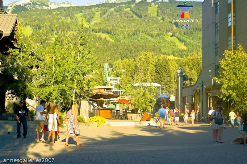 WALK THROUGH WHISTLER VILLAGE 6