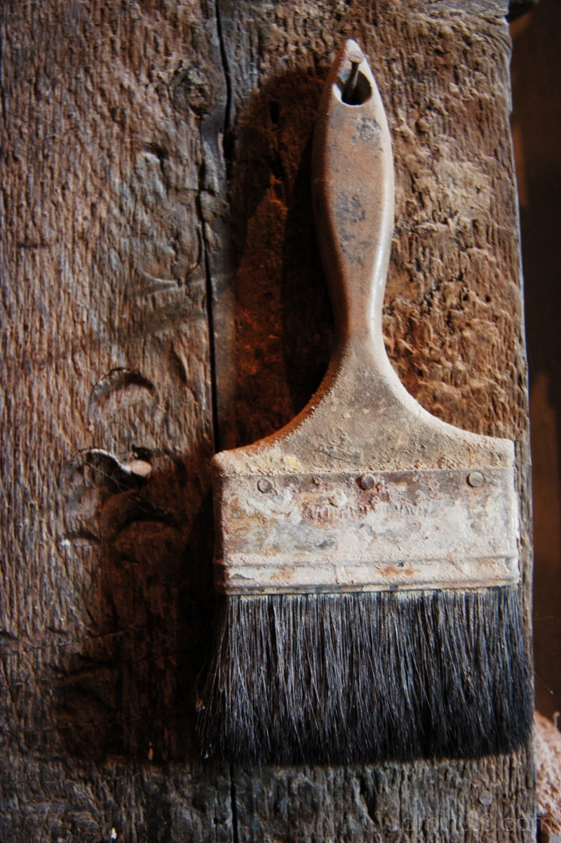 paintbrush old antique