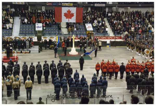 Regina's Rememberance Day service