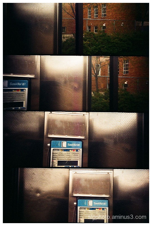 supersampler  sasktel phonebooth