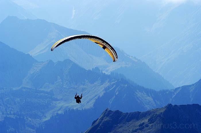 paragliding, benno white photography