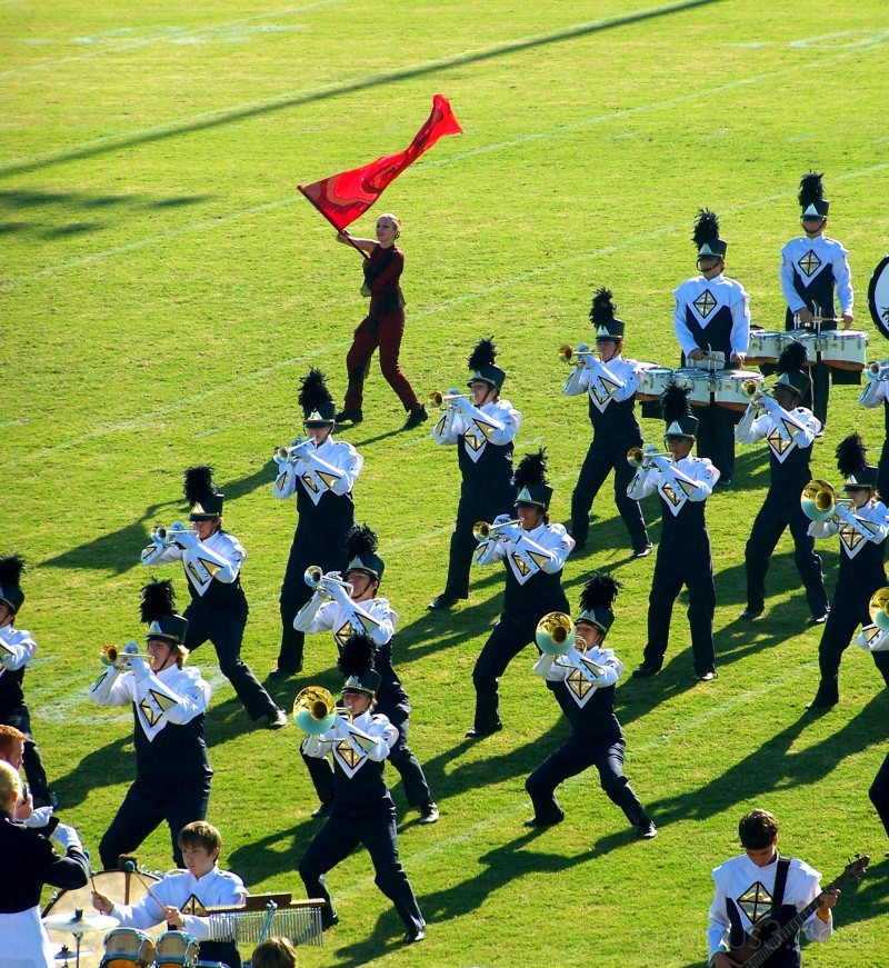 Chattahoochee Marching Band 2007
