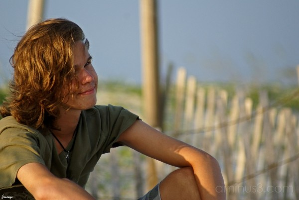 Portrait of a Teenager Tybee Island