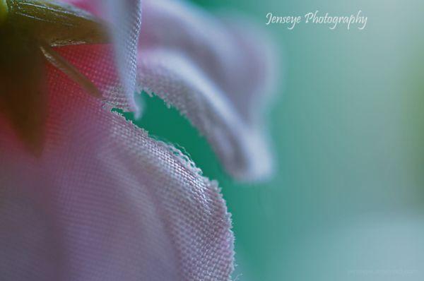 Plastic Pink Flower