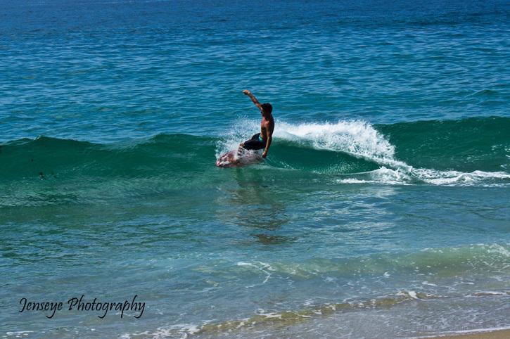Surfer Laguna Beach 1000 Steps Beach CA