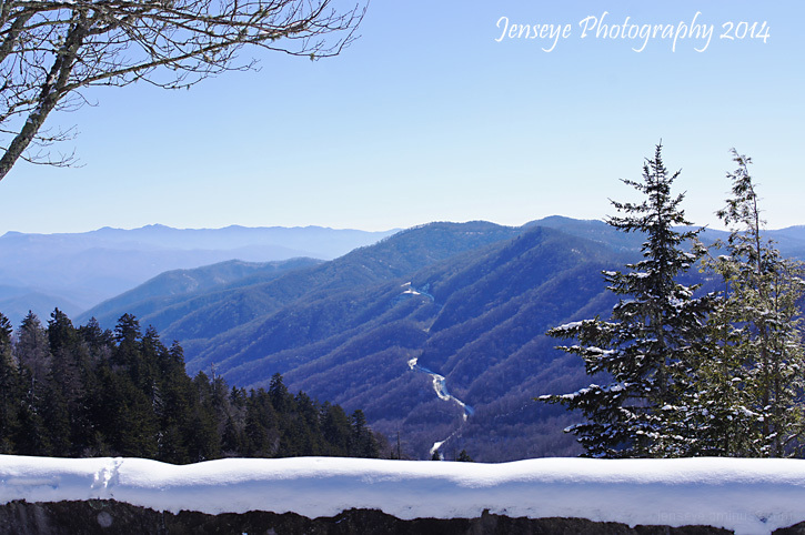 Newfound Gap Great Smoky Mountains Tennessee