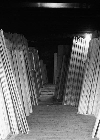 A wood yard