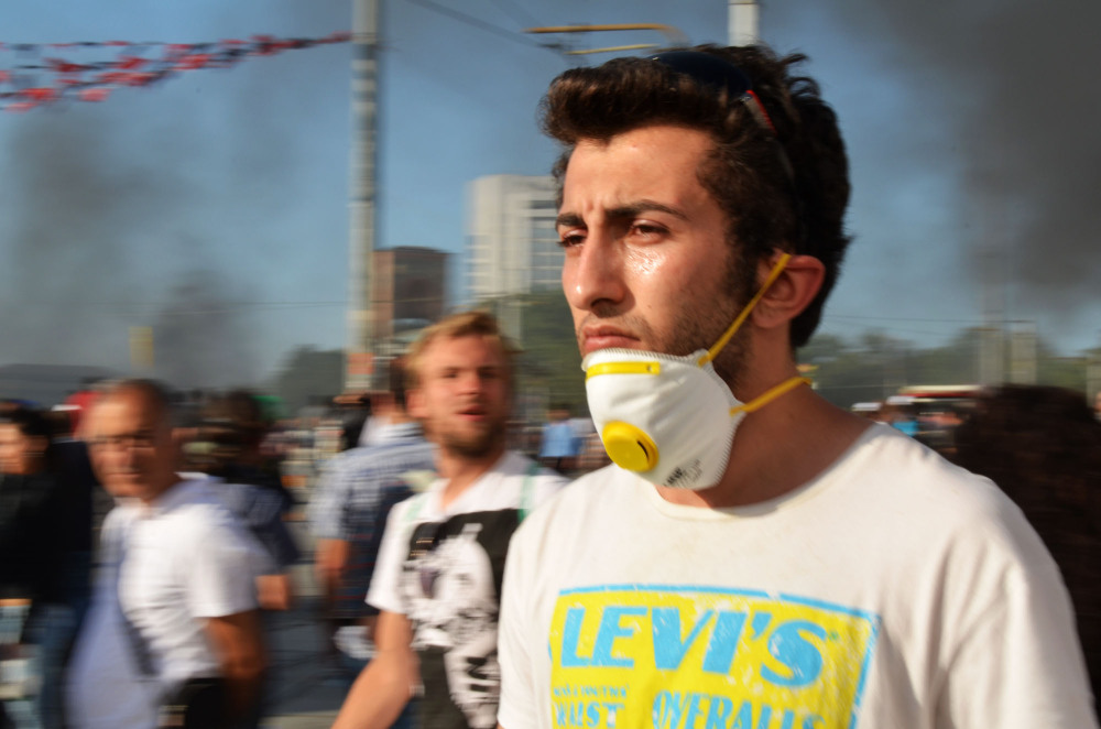 Leaving Taksim