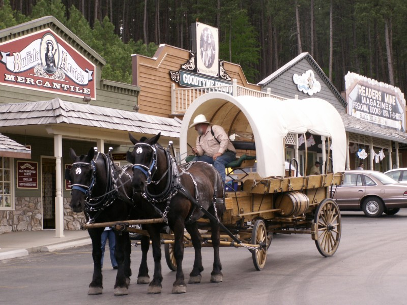 STAGECOACH IN S. DAKOTA