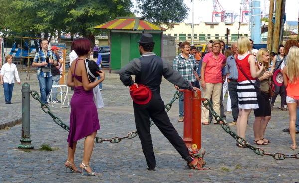 03 - buenos aires / tango / la Boca para turistas