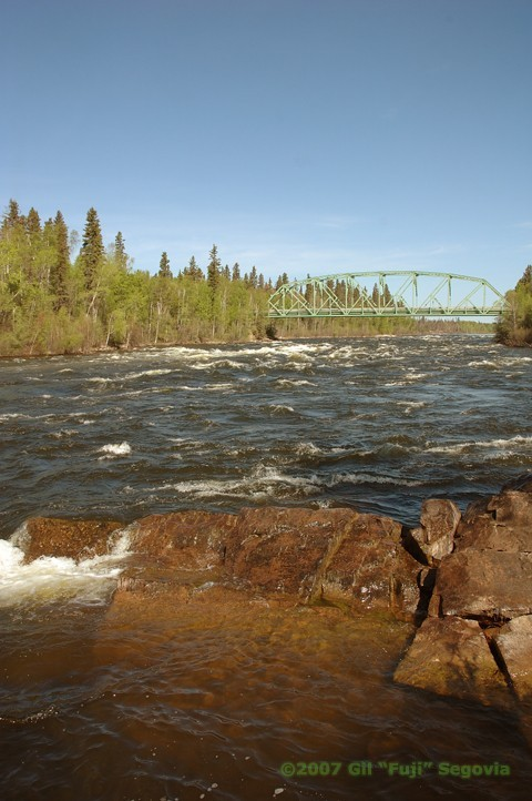 Bridge over Churchill River
