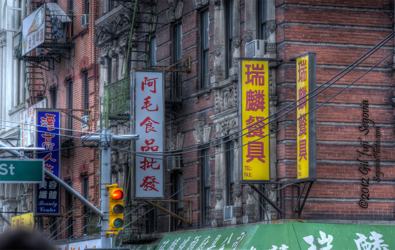 A Glimpse of Manhattan's China Town