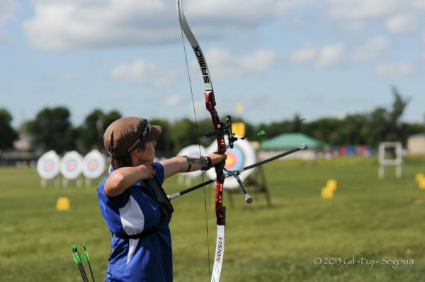 Arrow in flight