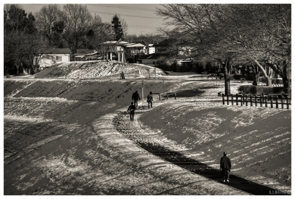 Walking Up The Slope