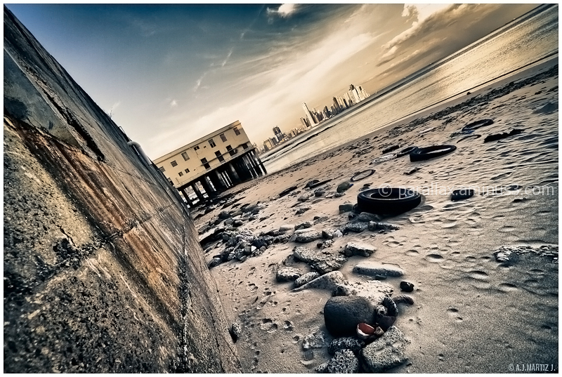 Tilted Shore