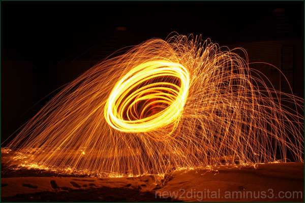 Spinning Steel Wool 1/3