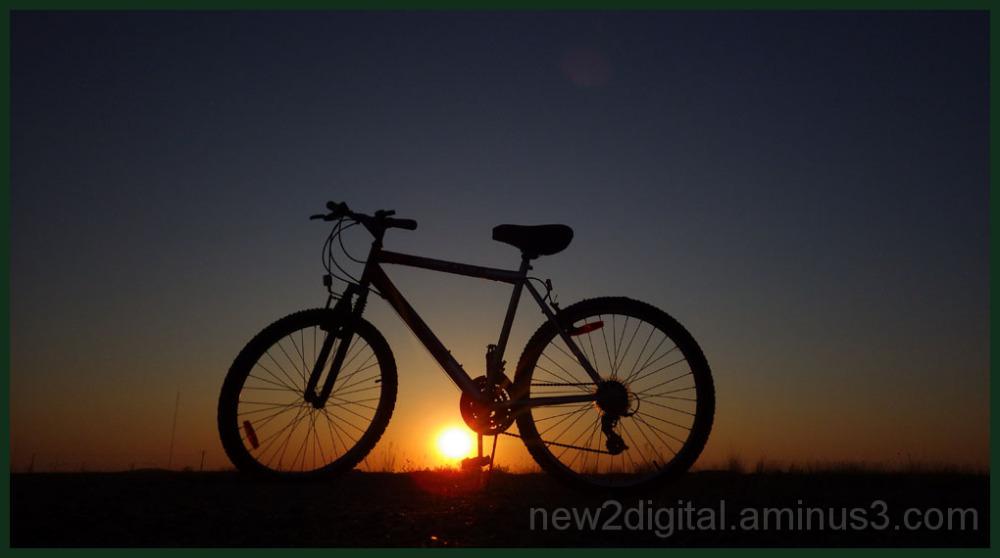 Bike at Dusk 3/4