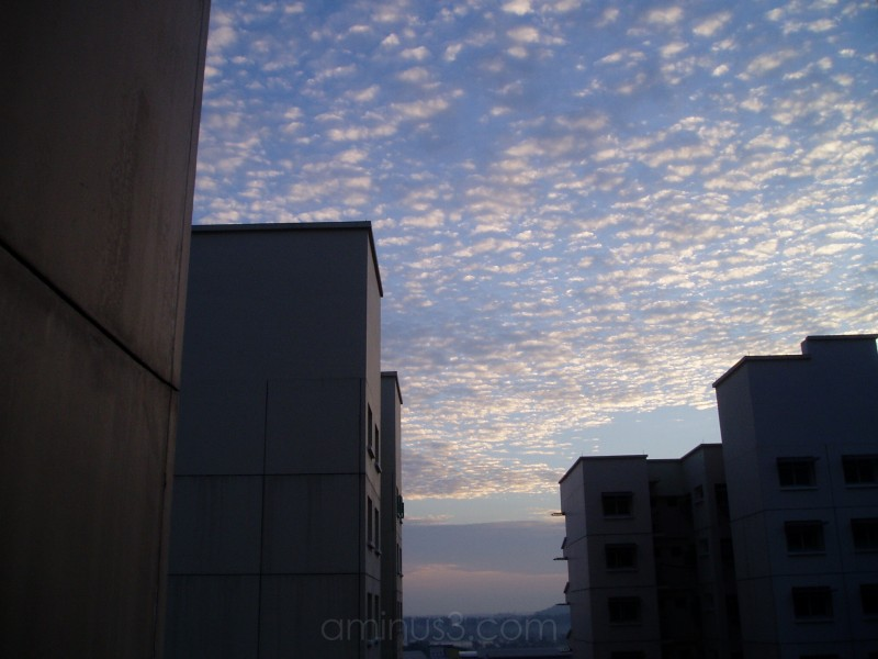 Morning Sky @ 7am