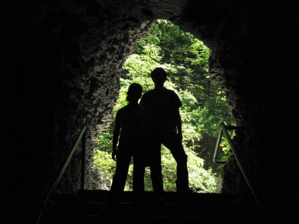 Cave man and woman :D