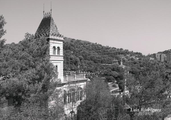 Barcelona Park Guell Palace