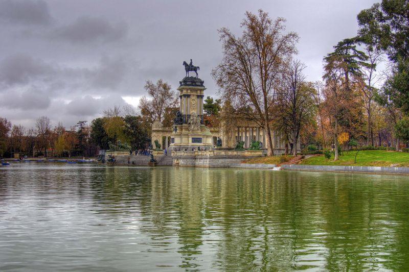 Madrid Retiro jardim Garden