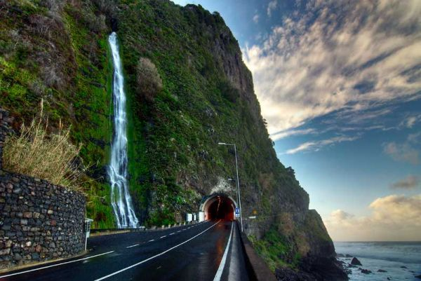 madeira, portugal, Island, ilha, waterfall