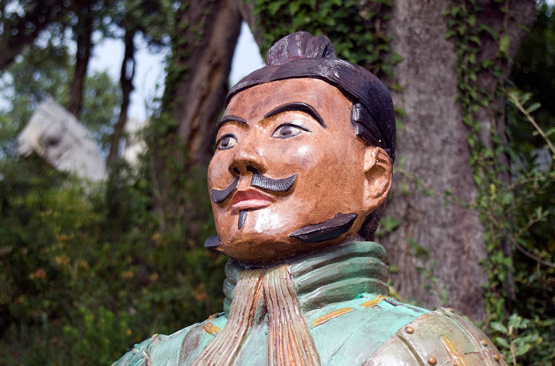 Terracotta Warriors Face Terracotta Warrior Face