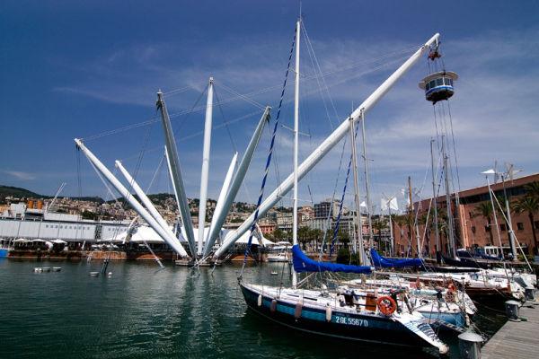 Genova Genoa Harbour City Italy