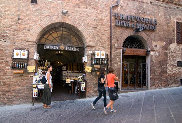 Toscana Italy Montepulciano