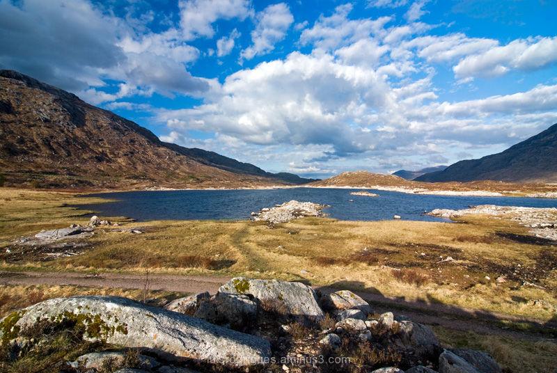 Scotland Highlands Fields