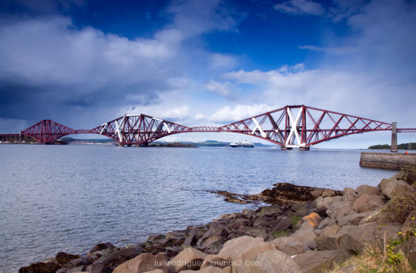 Forth Bridge Queensferry Scotland