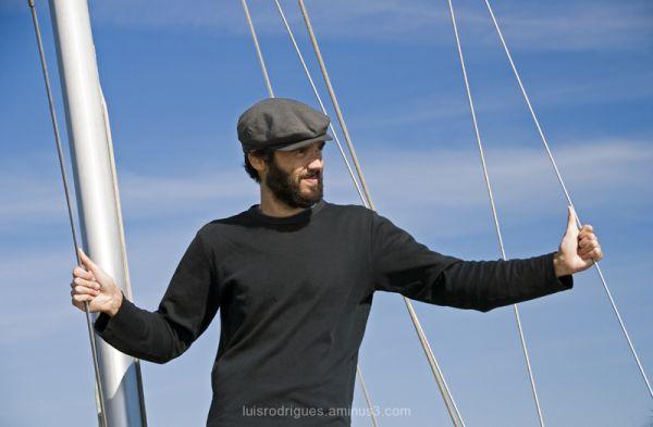 Tagus River Lisbon Portugal Sailor João
