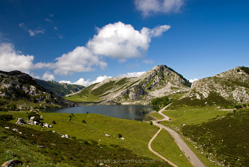 Lakes of Covadonga Spain Peaks of Europe Enol