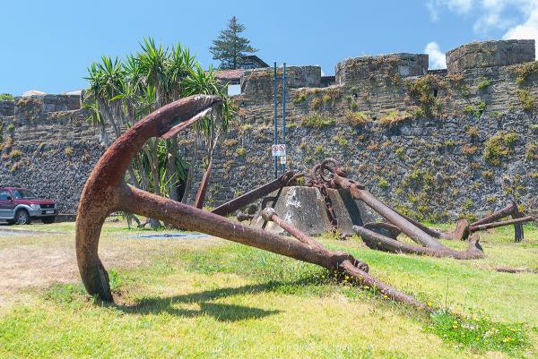 Ancora Horta Faial Azores Açores Portugal