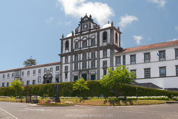 São Salvador Church Faial Azores Portugal Açores