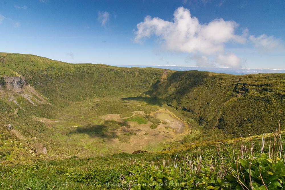 Caldeira Faial Azores Açores Portugal