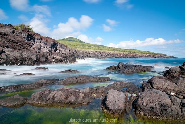 Vulcão dos Capelinhos Faial Azores Lighthouse