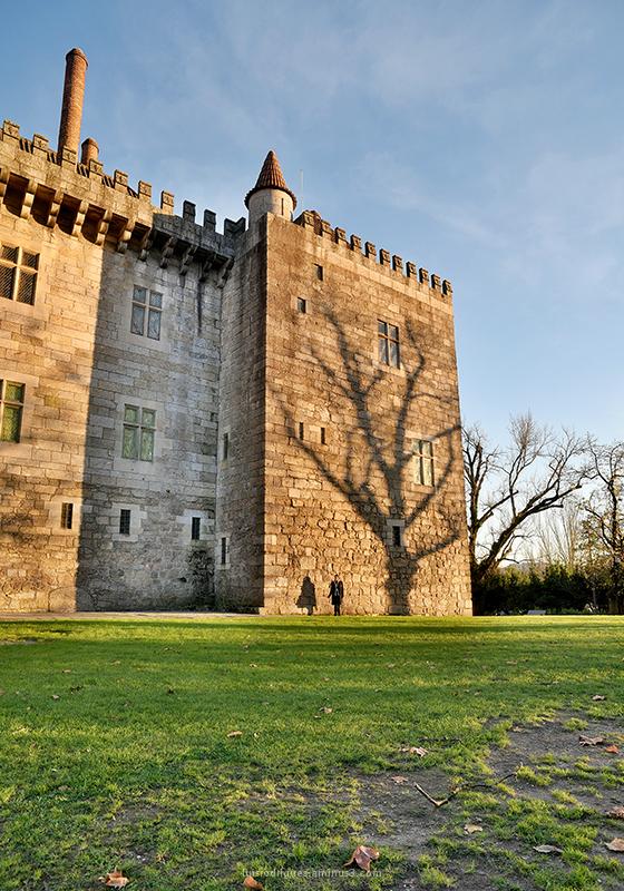 Paço dos Duques de Bragança Guimarães Portugal